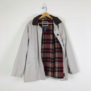 Vintage Flannel Lined Barn Field Coat Jacket